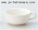 ホワイト片手スープ碗