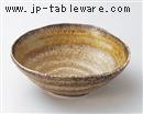 灰釉緑彩5.0鉢