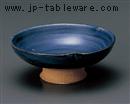 藍染高台小鉢