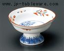 赤絵京山水4.0小鉢