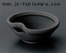 黒陶片口小鉢
