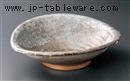 唐津白タタキ盛り鉢