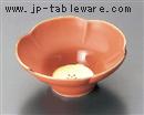 五釉金(赤)花型小鉢
