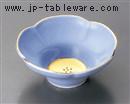 五釉金(紫)花型小鉢
