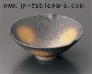 黒ゆず結晶金彩三方なぶり小鉢