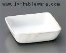 粉引切立角鉢