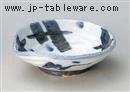 ゴス格子片口4.8鉢