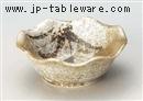 唐津ススキ花型4.5鉢