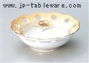 加茂川花型スカシ小鉢