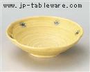 黄瀬戸草紋花型平鉢