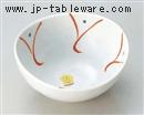 山茶花楕円4.0小鉢
