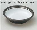 南蛮粉引4.0平鉢