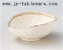 白唐津変型小鉢