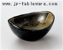 窯変楕円鉢