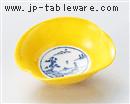 雲型黄交趾小鉢