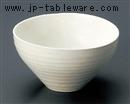 白粉引楕円鉢(大)