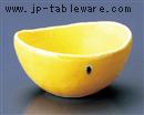 黄輝楕円小鉢(小)