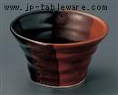 天目赤茶カップ小鉢(大)