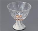粉引ガラス高台鉢