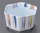 色十草六角小鉢