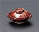 赤釉鍋型珍味