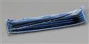 藍紺しぶき長皿