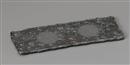 炭化黒フラット長皿