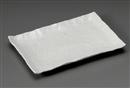 白粉引石目尺二長角皿
