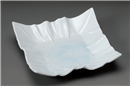 青白磁折り紙尺一寸皿
