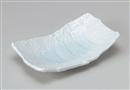 青白磁長角29cm盛り皿