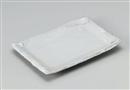 炭化白化粧長角皿