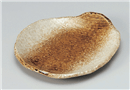 金茶吹変形9.0皿