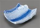 藍流しチギリ皿