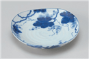 藍染ぶどう5.0皿