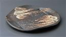 石彩窯変丸盛皿
