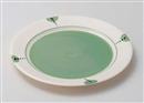 ニューボンドットグリーン10吋皿