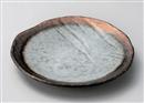 窯変金彩9.0丸皿