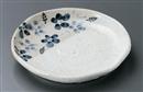 雪化粧藍花6.0丸皿