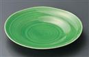 緑釉櫛目5.0皿