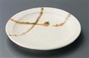 釉彩粉引まるまる和皿