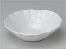粉引手折サラダ鉢