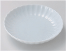 菊型青白磁丸5.0皿