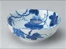 藍染ぶどう三角5.5鉢