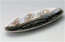織部ライン舟型盛鉢