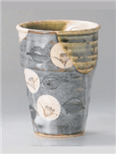 織部椿フリーカップ