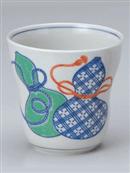 鍋島紋様焼酎カップ