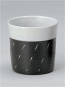 黒陶彫込フリーカップ