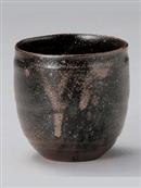 さび釉たる型コップ(小)