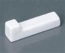 白磁L字箸置