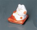 座ぶとんネコ赤箸置